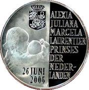 Alexia (prinses der Nederlanden) geboorte 26-jun-2005 – reverse