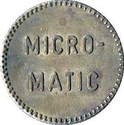 Car Wash Token - Micro-Matic – obverse