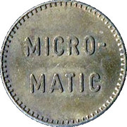 Car Wash Token - Micro-Matic – reverse