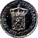 Token - 5 generations Kings/Queens Netherlands (1815/1979) – reverse