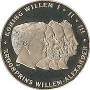 Kroonprins Willem-Alexander – obverse