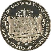 Kroonprins Willem-Alexander – reverse