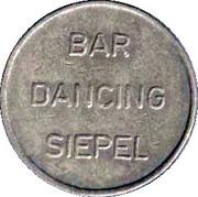 Hengelo Bar token – reverse