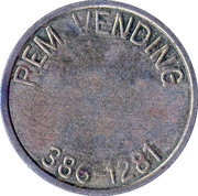 Rem Vending 386-1281 – reverse