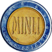Car Wash Token - Pinguino Verde (Minli) – reverse