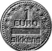 1 Euro - Sikkens – obverse
