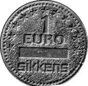 1 Euro - Sikkens – reverse