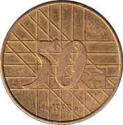 Rüttchen 50 Year Coin – obverse