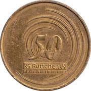 Rüttchen 50 Year Coin – reverse