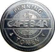 Penning Token - Cafebar – obverse