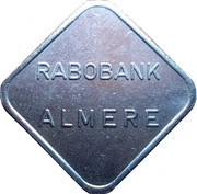 Rabobank Almere 1 year anniversary token – reverse