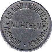 Wiskunde en natuurwetenschappen Nijmegen – obverse
