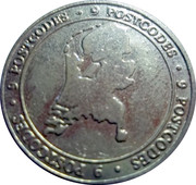 Commercial Token - Nationale Postcode Loterij (33 million Euro) – obverse