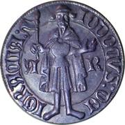 Replica - Dukát - Jošt Lucemburský (Morava, 1375-1411) – obverse