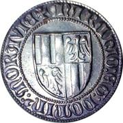 Replica - Dukát - Jošt Lucemburský (Morava, 1375-1411) – reverse