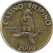 Token - Casino Filipino – obverse