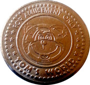 Amusement Token - Tom's World – obverse