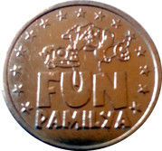 World of Fun Amusement Token – reverse
