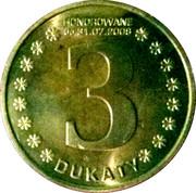 3 Dukaty - Kujawsko-Pomorskie – obverse