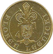 4 Floreny Legnickie - Legnica – reverse