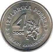 4 Talary Karkonoskie (I edition) - Szklarska Poręba – reverse