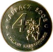 4 Talary Karkonoskie I edition - Karpacz – reverse