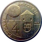 4 Denary Kaliskie - Kalisz – obverse