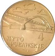 4 Myto Puławskie 2008 - Puławy – obverse