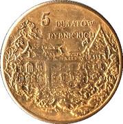 5 Dukatów Rybnickich - Powiat Rybnicki (Rybnik) – reverse