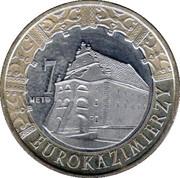 7 Eurokazimierzy - Kazimierz Dolny – obverse