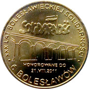 6 Bolesławów (Bolesławiec) – obverse