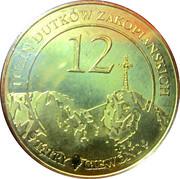 12 Dutków Zakopiańskich - Zakopane – obverse