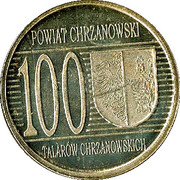 100 Talarów Chrzanowskich - Powiat Chrzanowski (Chrzanów) (Type 2) – reverse
