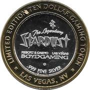 10 Dollar Gaming Token - Stardust Casino (Las Vegas) – obverse
