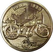 Token - Kultowe Polskie Motocykle (SHL 98) – obverse