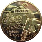 Token - Kultowe Polskie Motocykle (SHL 98) – reverse