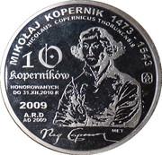 10 Koperników - 2009 (Aluminium) – obverse