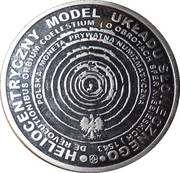 10 Koperników - 2009 (Aluminium) – reverse