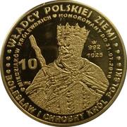10 miedziaków królewskich - Bolesław I Chrobry wg. Aleksandra Lessera – obverse