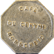 Token - Café du centre (Hobscheid) – obverse