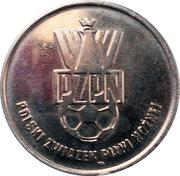 Token - PZPN (Kryszałowicz Napastnik) – reverse
