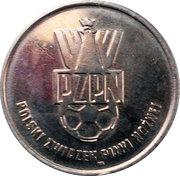 Token - PZPN (Majdan Bramkarz) – reverse