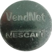 Token - Vendnet Nescafe – obverse