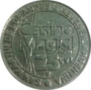 25 Cent Gaming Token - San Martin de Los Andes Casino – obverse