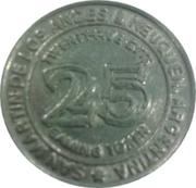 25 Cent Gaming Token - San Martin de Los Andes Casino – reverse