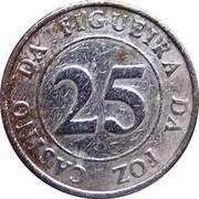 25 Escudos - Casino da Figueira da Foz – reverse