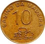 10 Escudos - Casino da Madeira – obverse