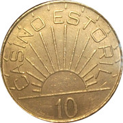 10 Escudos - Casino Estoril – obverse