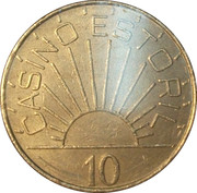 10 Escudos - Casino Estoril – reverse