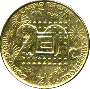 20 Escudos - Casino Estoril – reverse